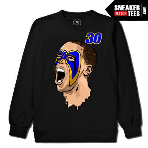 Steph Curry Warriors Crewneck Sweatshirt