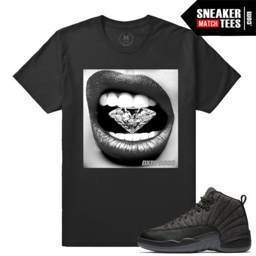 T shirt matching Wool 12 Jordans