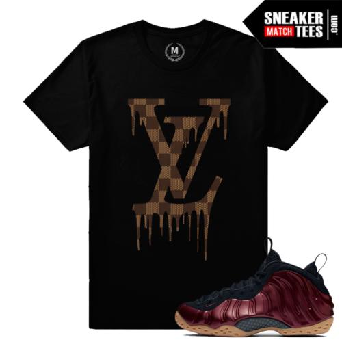 t shirts Matching Maroon Nike Foams