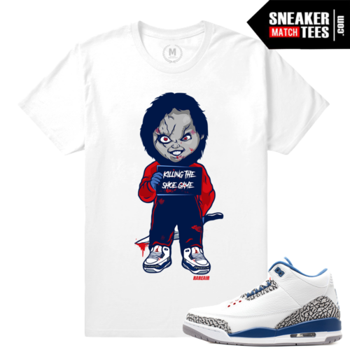 true blue 3s t shirt Match