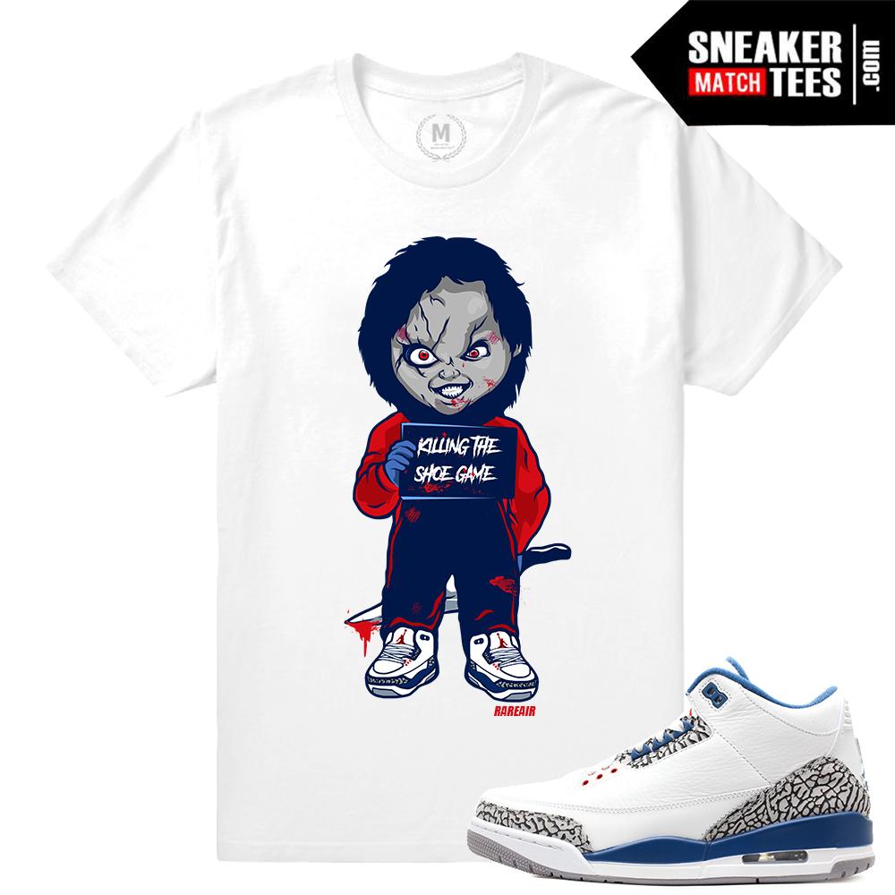 Sneaker Match Tees Jordan 3 True Blue OG