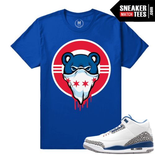 True Blue 3s t shirt