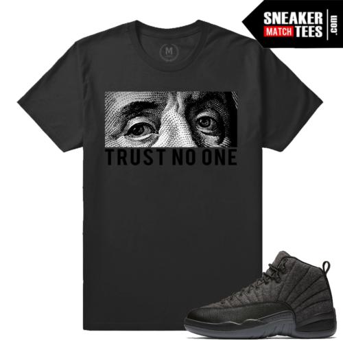 Wool 12s matching Trust No One T shirt