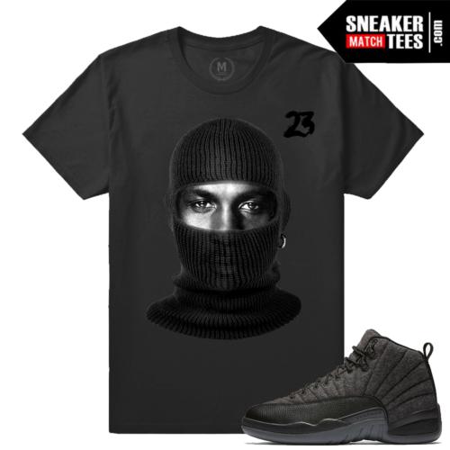 Wool 12s matching t shirt Jordan Retro