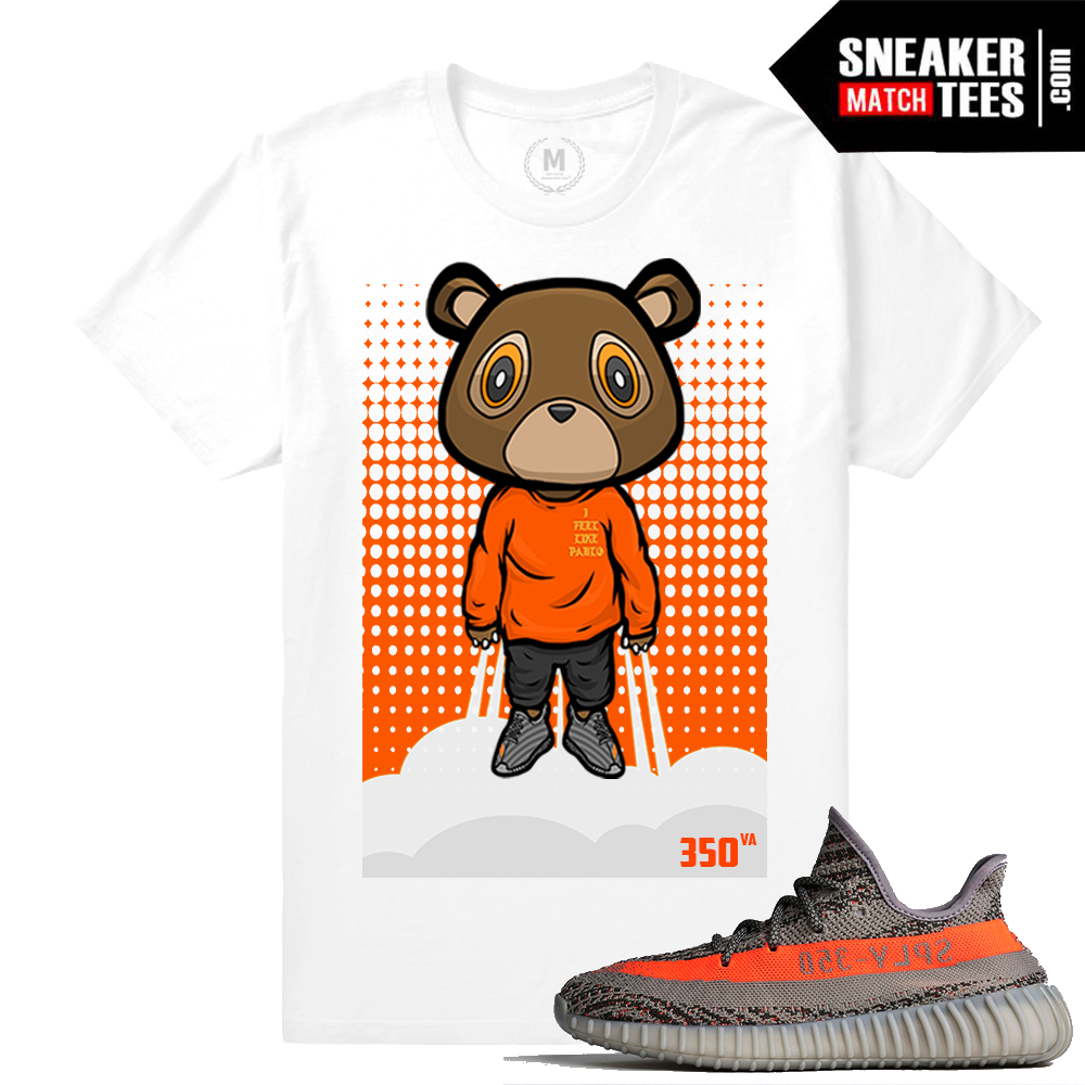 Yeezy 350 VA Boost T shirt Yeezy Bear | Sneaker Match Tees Yeezy Foams Shirt