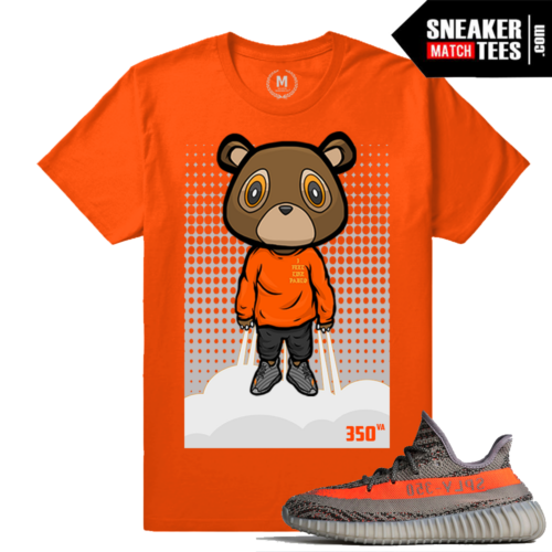 Yeezy Bear shirt Match Yeezy Boost 350 Beluga