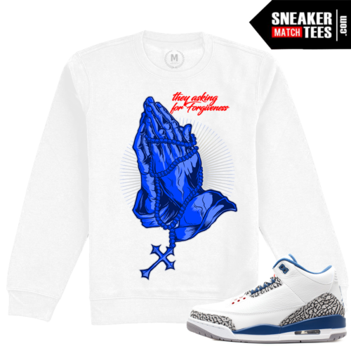 Air Jordan True Blue 3 Crewneck Sweatshirt