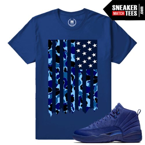 Blue Suede 12 T shirt sneaker tee