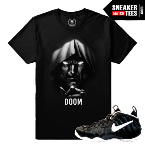 Doom Foamposite Matching Sneaker Tee Shirt
