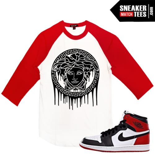 Jordan 1 Black Toe Baseball t shirt