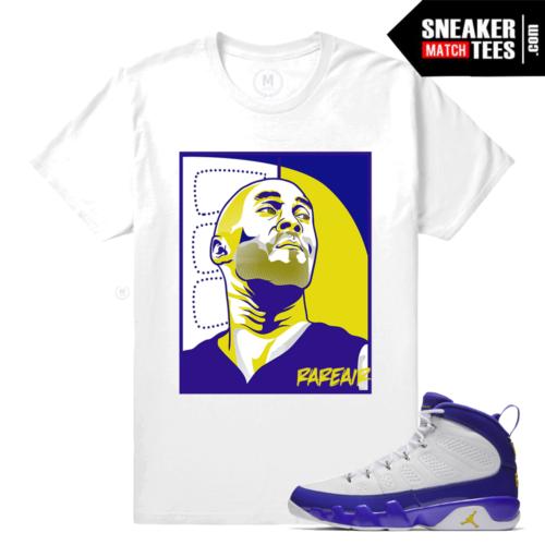 Jordan 9 Kobe Sneaker Tee Match
