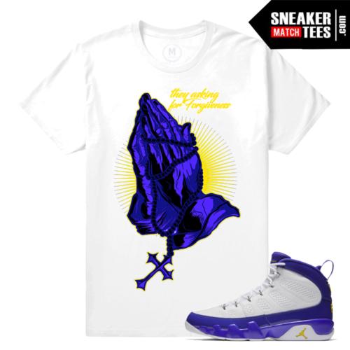 Jordan 9 Kobe Shirt Match Sneaker