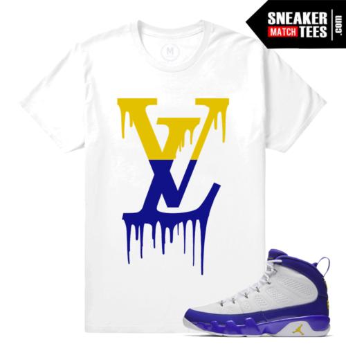 Match Jordan 9 Kobe Sneaker T shirts
