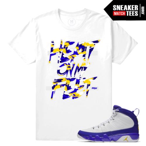 Match Jordan 9 Kobe Sneaker Tees