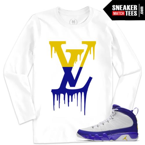 Match Jordan Retro 9 Kobe Long Sleeve T shirt