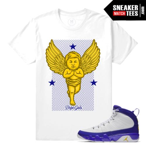 Shirt match Jordan 9 Kobe