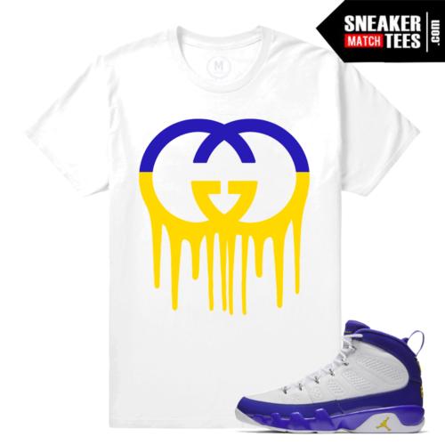 Sneaker Shirt Kobe Jordan 9 Match