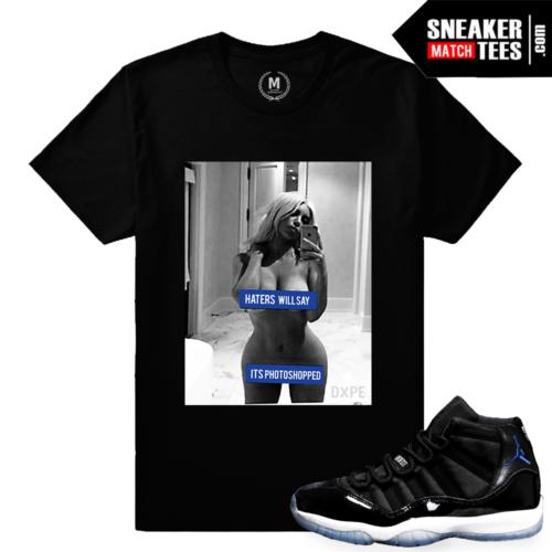 Sneaker Tees Space Jam 11 Match Jordans