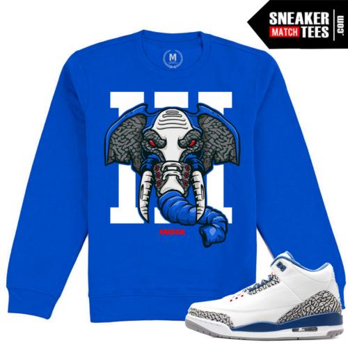 True Blue 3s Crewneck Sweatshirt