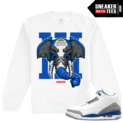 True Blue 3s Matching Sweatshirt