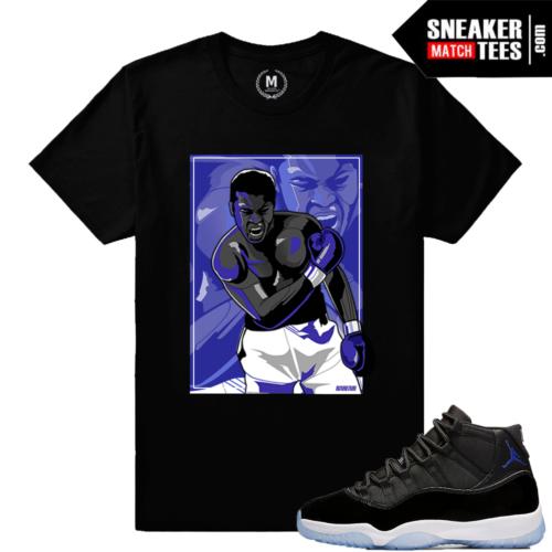 Sneaker Shirt matching Space Jam 11 Retros