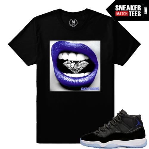 Jordan 11 Space Jam Matching Sneaker Tee Shirts