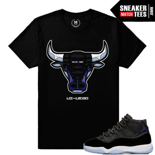 Jordan 11 Space Jam T shirt