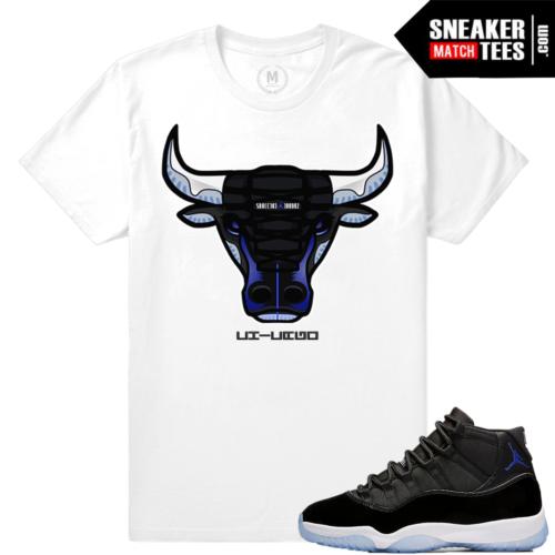 Jordan 11 Space Jams Match Shirt