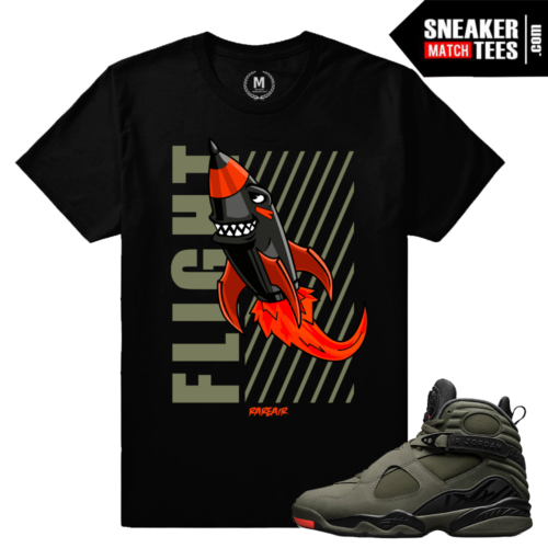 Match Sneakers Take Flight 8 T shirts