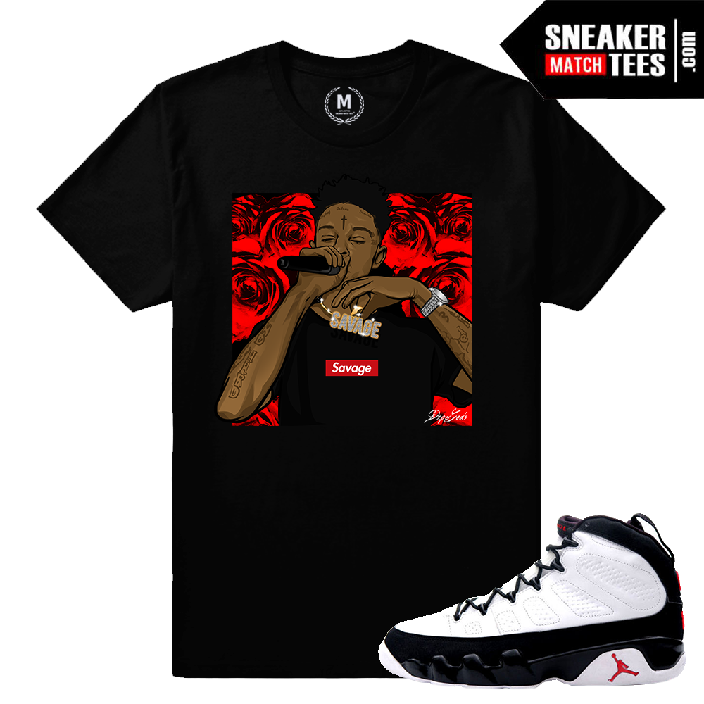 Og 9 Jordan T shirt Match | Sneaker Match Tees Space Jam 9 Yeezy Foams Shirt