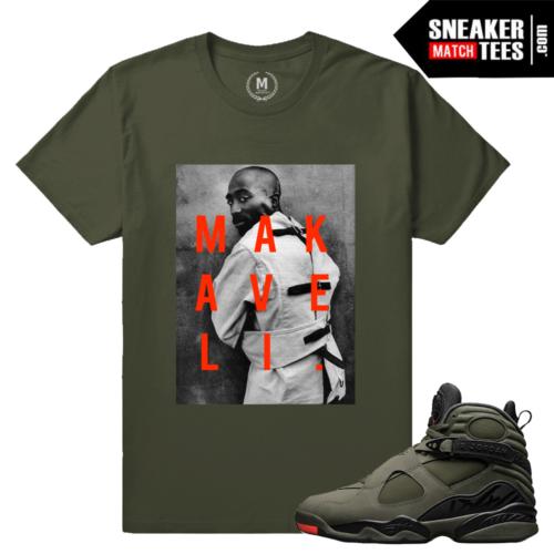 Sneaker Tee Shirts Matching Jordan 8 Take Flight