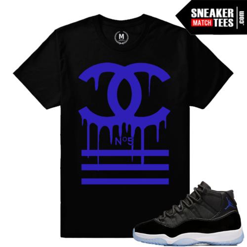 Sneaker Tees Match Jordan 11 Space Jam