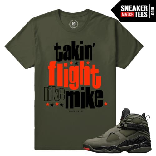 Sneaker Tees Match Jordan 8 Take Flight Sneakers