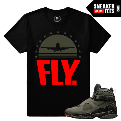 Sneaker Match Jordan 8 Take Flight T shirt