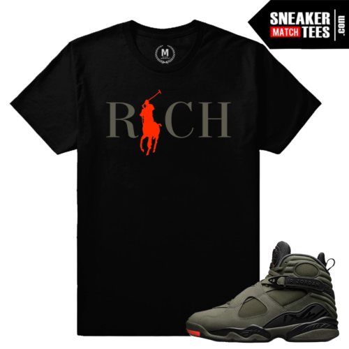 Sneaker Tees Shirts Match Jordan 8 Take Flight