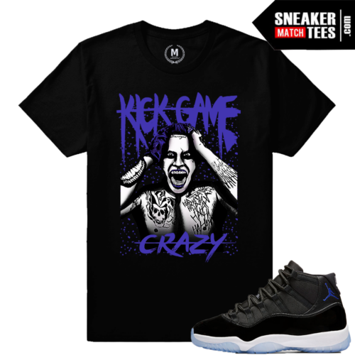 Space Jam 11 Concord Purple Match T shirts