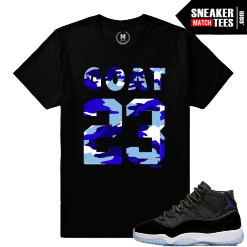 Space Jam 11 Matching T shirt Sneaker tee