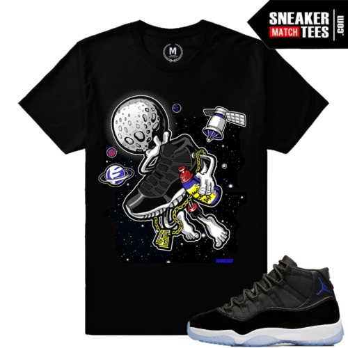 Space Jam 11 Matching Sneaker Tee Shirt