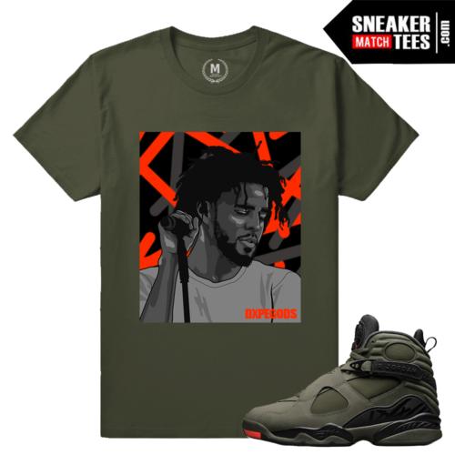 Take Flight 8 Matching Sneaker Tee Shirt
