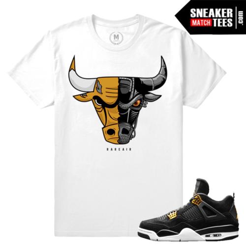 Air Jordan 4 Royalty Sneaker Match Tees