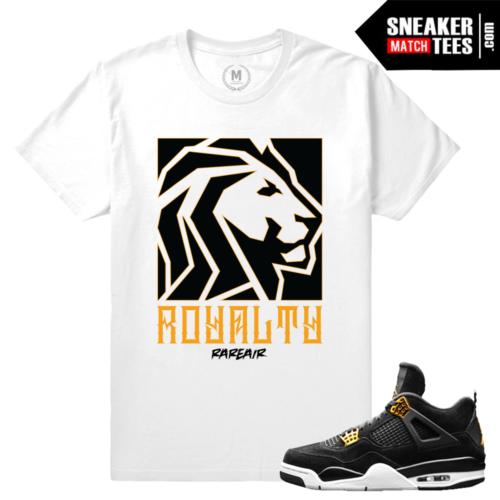 Air Jordan 4 Royalty tee shirt Match