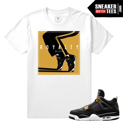 Air Jordan Royalty 4s T shirt Match