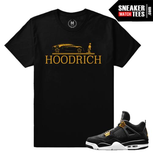 Jordan 4 Royalty Matching Tee Shirts