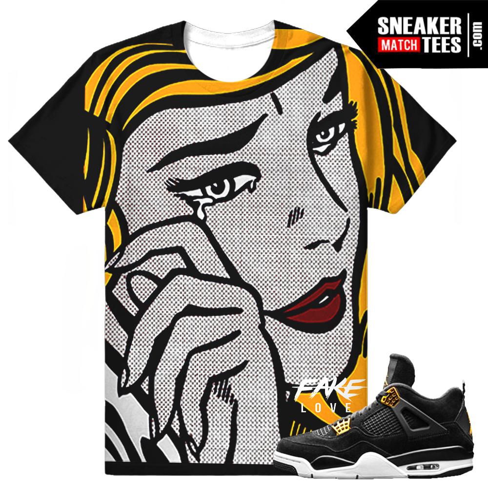 d6654ffcbfb Shirts To Match Air Jordan 4 Cavs | Kuenzi Turf & Nursery