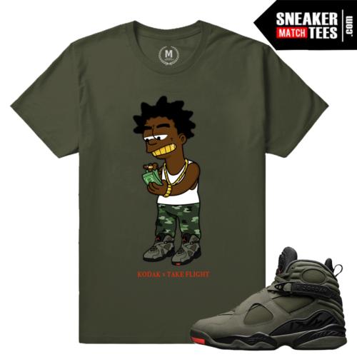 Jordan 8 Retro T shirt Matching