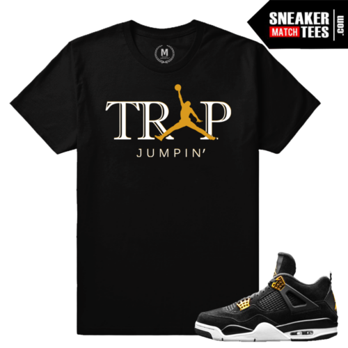 Jordan IV Royalty Matching shirts
