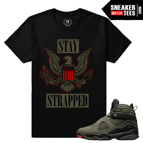 Match Air Jordan 8 Take Flight Sneaker tees