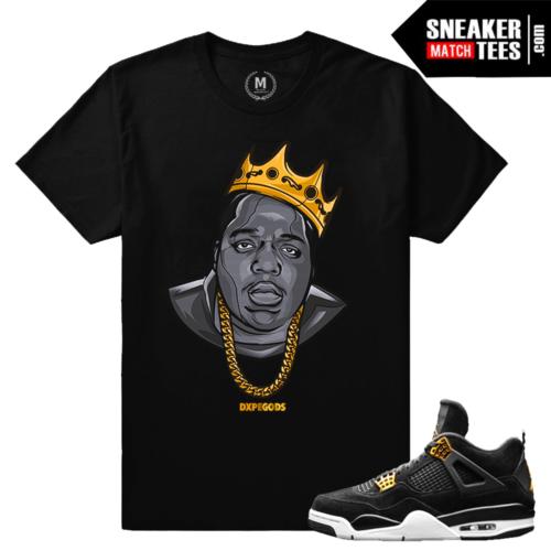 Match Jordan 4 Royalty Shirt