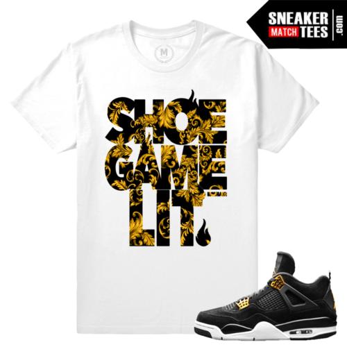 Match Royalty 4 Jordan Sneaker Tees