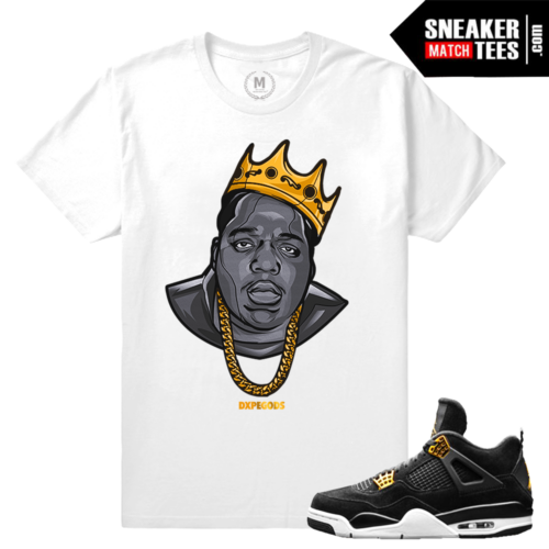 Matching Sneaker tee Royalty 4 Air Jordan